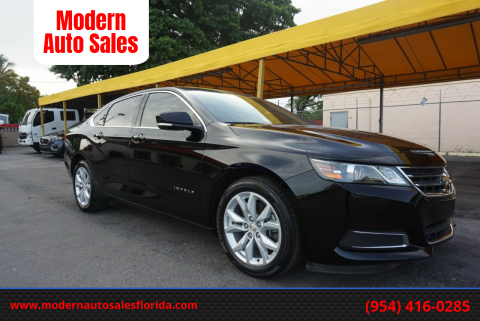 2017 Chevrolet Impala for sale at Modern Auto Sales in Hollywood FL