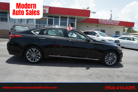 2016 Hyundai Genesis for sale at Modern Auto Sales in Hollywood FL