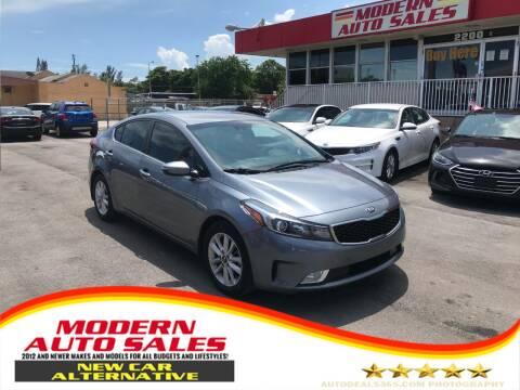 2017 Kia Forte for sale at Modern Auto Sales in Hollywood FL