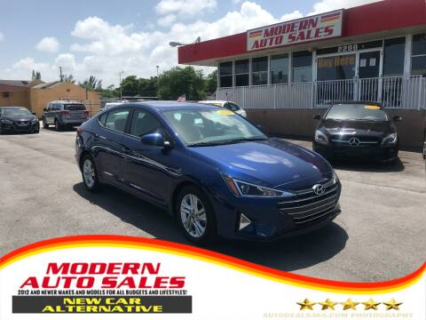 2020 Hyundai Elantra for sale at Modern Auto Sales in Hollywood FL