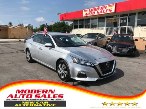 2020 Nissan Altima for sale at Modern Auto Sales in Hollywood FL
