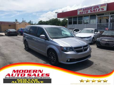 2019 Dodge Grand Caravan for sale at Modern Auto Sales in Hollywood FL