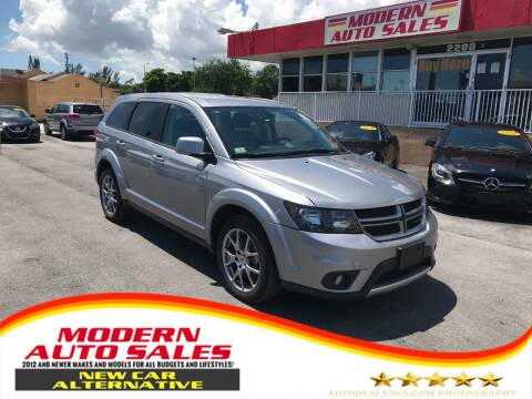 2019 Dodge Journey for sale at Modern Auto Sales in Hollywood FL