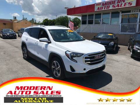 2019 GMC Terrain for sale at Modern Auto Sales in Hollywood FL