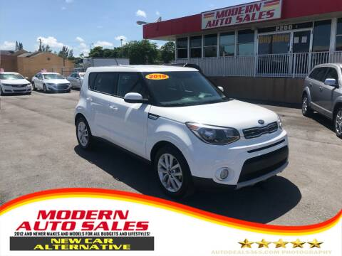 2019 Kia Soul for sale at Modern Auto Sales in Hollywood FL