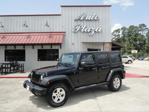 2012 Jeep Wrangler Unlimited for sale in Lumberton, TX