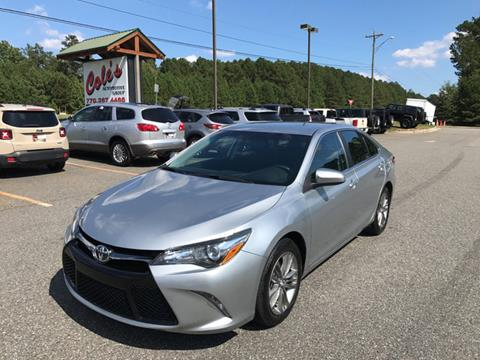 2016 Toyota Camry for sale in Monroe, GA