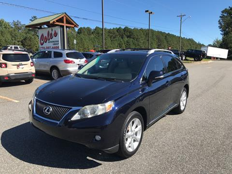 2010 Lexus RX 350 for sale in Monroe, GA
