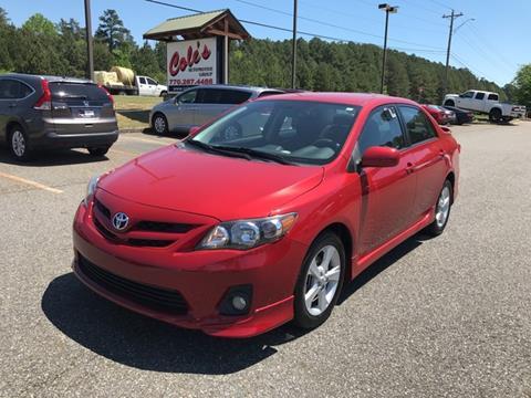 2012 Toyota Corolla for sale in Monroe, GA
