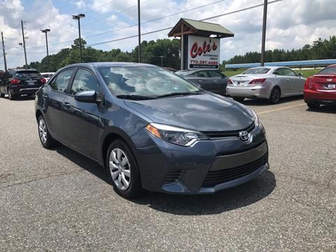 2016 Toyota Corolla for sale in Monroe, GA