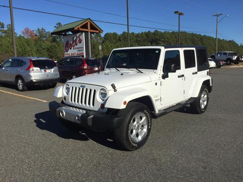2013 Jeep Wrangler Unlimited for sale in Monroe, GA