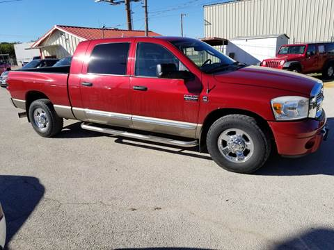 2008 Dodge Ram Pickup 2500 for sale at Key City Motors in Abilene TX