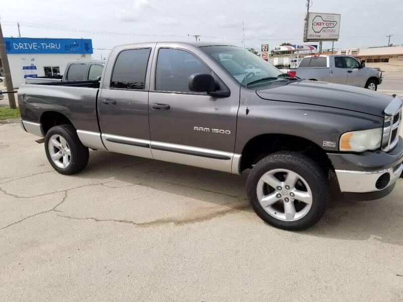 2004 Dodge Ram Pickup 1500 for sale at Key City Motors in Abilene TX