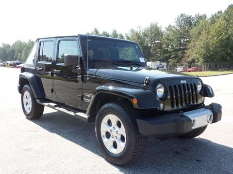 2014 Jeep Wrangler Unlimited for sale in Conyers GA