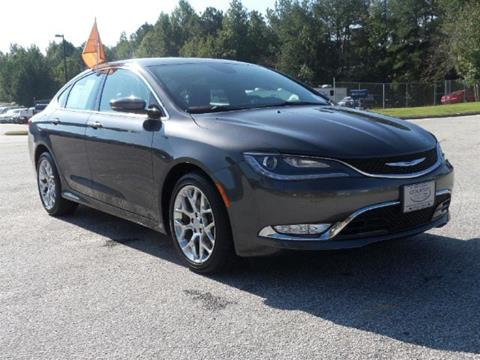 2015 Chrysler 200 for sale in Conyers GA