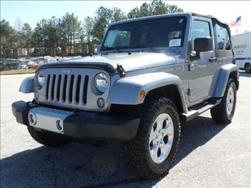 2014 Jeep Wrangler for sale in Conyers, GA