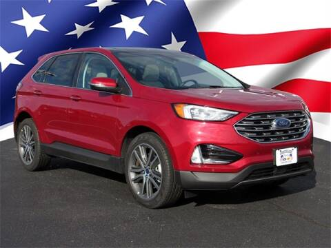 2020 Ford Edge for sale at Gentilini Motors in Woodbine NJ