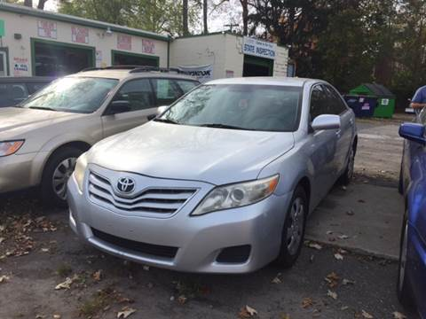 2011 Toyota Camry for sale at Professional Car Zone in Taunton MA
