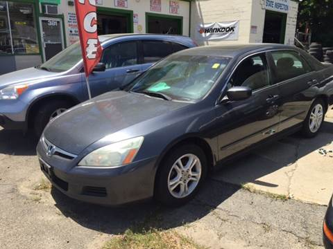 Used 2007 Honda Accord For Sale In Taunton Ma Carsforsale Com