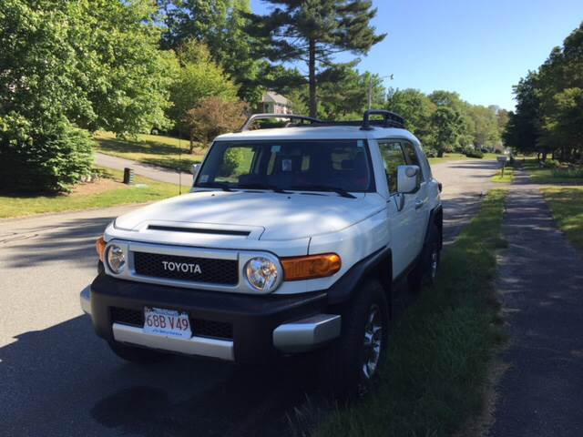 2012 Toyota FJ Cruiser for sale at Professional Car Zone in Taunton MA
