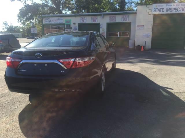 2016 Toyota Camry LE 4dr Sedan - Taunton MA