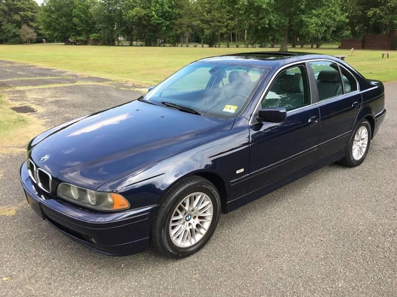 2001 Bmw 5 Series 530i 4dr Sedan In Morganville NJ - Action Auto Sales
