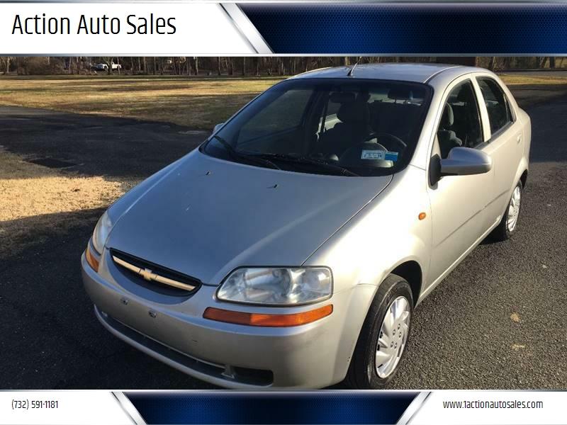 2004 Chevrolet Aveo Ls 4dr Sedan In Morganville Nj Action Auto Sales