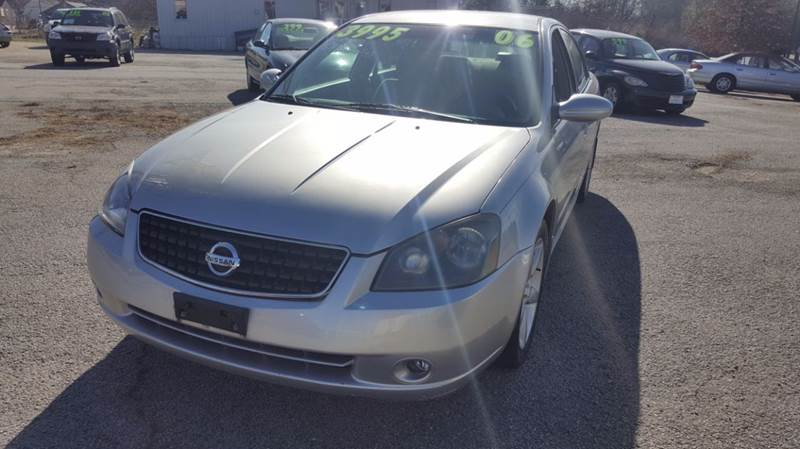 2006 Nissan Altima 3.5 SE 4dr Sedan W/Automatic   Gainesville GA