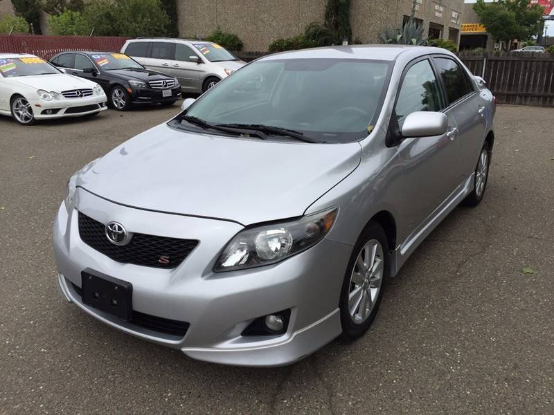 2010 Toyota Corolla S 4dr Sedan 4A - Citrus Heights CA