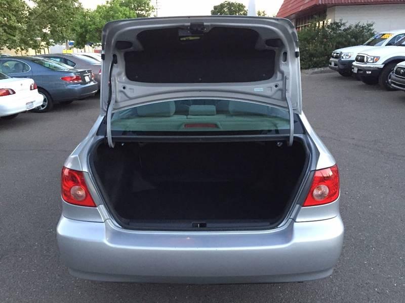 2005 Toyota Corolla CE 4dr Sedan - Citrus Heights CA