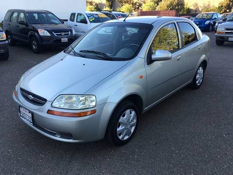 2004 Chevrolet Aveo for sale in Citrus Heights, CA