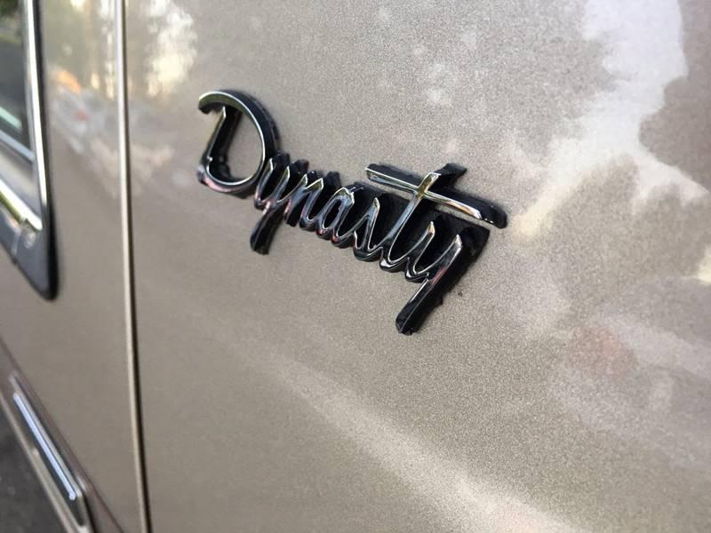 1993 Dodge Dynasty 4dr Sedan - Citrus Heights CA