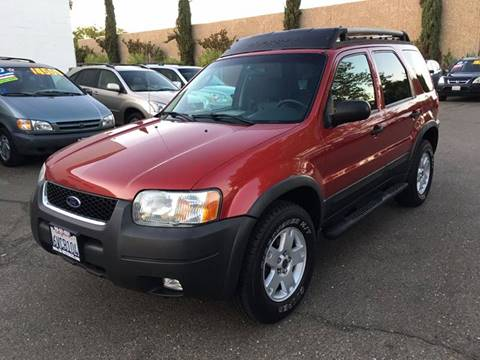 2003 Ford Escape for sale at C. H. Auto Sales in Citrus Heights CA