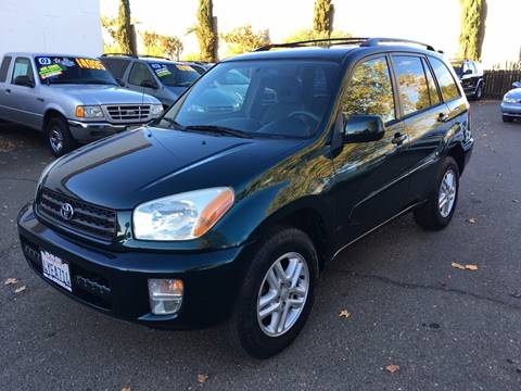 2002 Toyota RAV4 for sale at C. H. Auto Sales in Citrus Heights CA