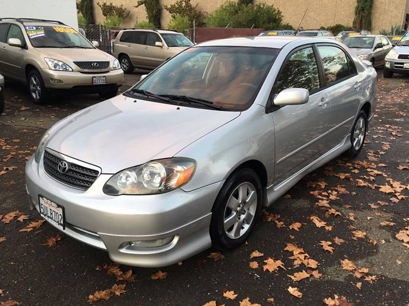 2006 Toyota Corolla S 4dr Sedan W/Automatic   Citrus Heights CA