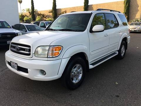 2001 Toyota Sequoia for sale at C. H. Auto Sales in Citrus Heights CA