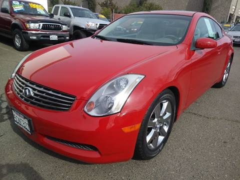 2003 Infiniti G35 for sale at C. H. Auto Sales in Citrus Heights CA