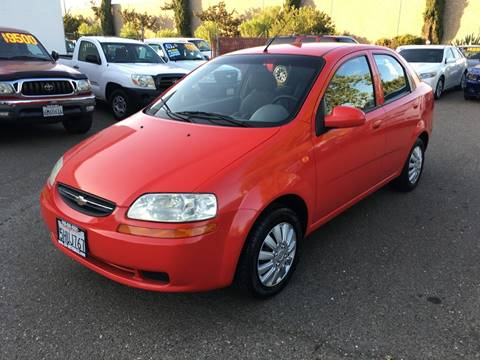 2004 Chevrolet Aveo for sale at C. H. Auto Sales in Citrus Heights CA