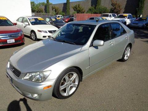 2003 Lexus IS 300 for sale at C. H. Auto Sales in Citrus Heights CA