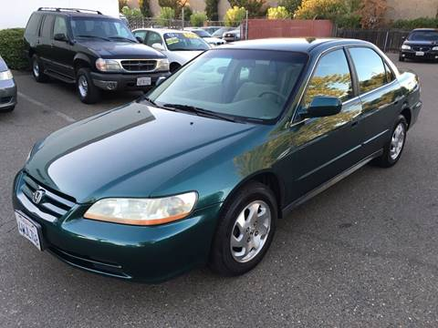 2002 Honda Accord for sale at C. H. Auto Sales in Citrus Heights CA