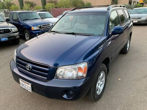 2006 Toyota Highlander for sale at C. H. Auto Sales in Citrus Heights CA
