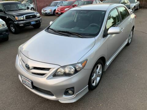 2012 Toyota Corolla for sale at C. H. Auto Sales in Citrus Heights CA
