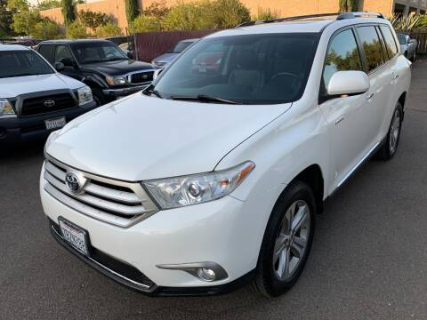 2013 Toyota Highlander for sale at C. H. Auto Sales in Citrus Heights CA