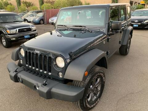 2017 Jeep Wrangler Unlimited for sale at C. H. Auto Sales in Citrus Heights CA