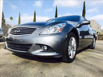 2013 Infiniti G37 Sedan for sale in Citrus Heights, CA