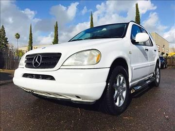 2001 Mercedes-Benz M-Class for sale at C. H. Auto Sales in Citrus Heights CA