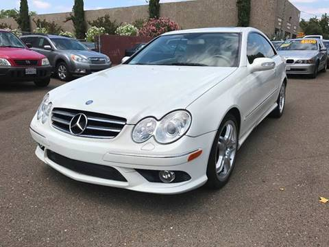 2008 Mercedes-Benz CLK for sale at C. H. Auto Sales in Citrus Heights CA
