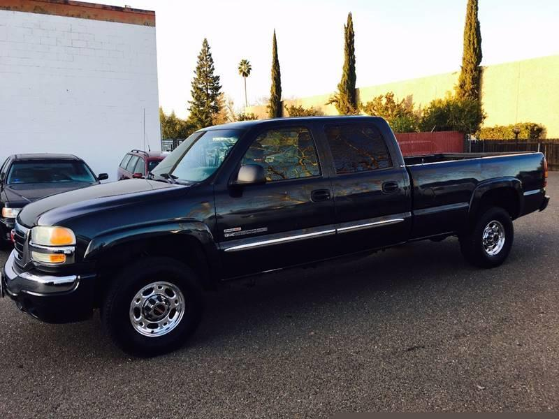 2003 GMC Sierra 2500HD 4dr Crew Cab SLE 4WD LB - Citrus Heights CA