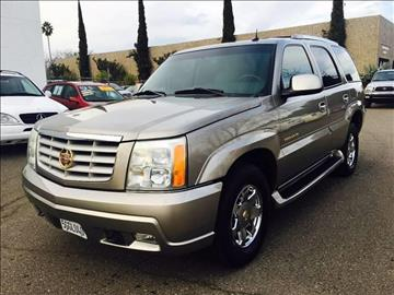 2003 Cadillac Escalade for sale at C. H. Auto Sales in Citrus Heights CA
