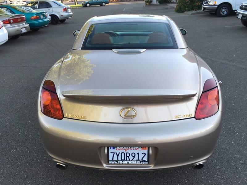 2003 Lexus SC 430 2dr Convertible - Citrus Heights CA
